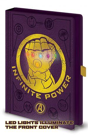 avengers infinity war gauntlet light up a5 beleznica pyramid box 42834