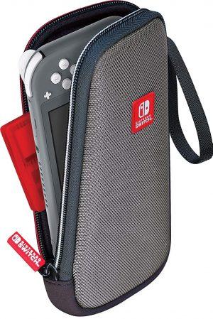 bigben nintendo switch lite potovalna torbica slim siva box 44279
