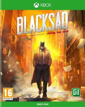 blacksad under the skin limited edition xone box 41949