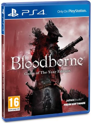 bloodborne game of the year edition playstation 4 box 5896