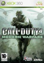 call of duty 4 modern warfare xbox 360 box 3177