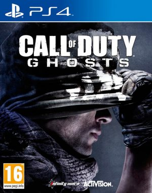 call of duty ghosts ps4 box 5822