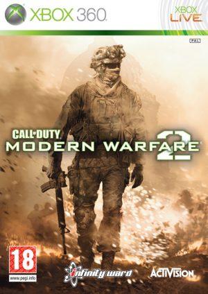 call of duty modern warfare 2 xbox 360 box 2113