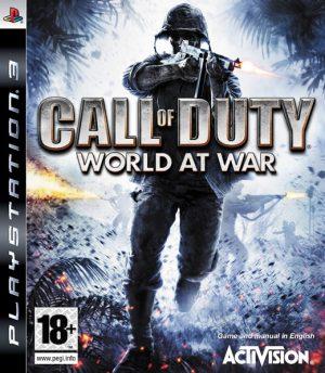 call of duty world at war playstation 3 box 5676