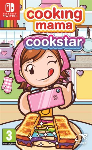 cooking mama cookstar nintendo switch box 44623