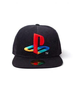 difuzed playstation logo denim snapback cap box 44396