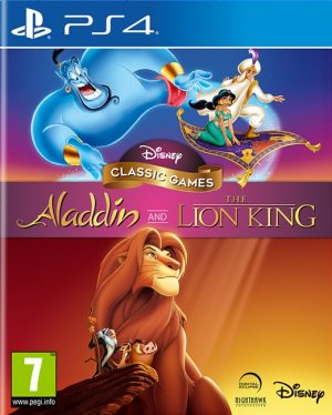 disney classic games aladdin and the lion king ps4 box 41803