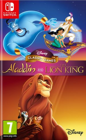disney classic games aladdin and the lion king switch box 41804