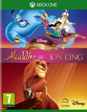 disney classic games aladdin and the lion king xone box 41802