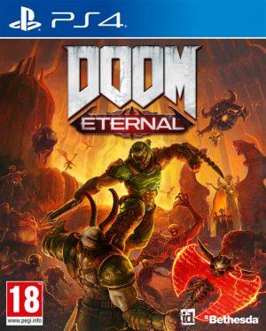 doom eternal ps4 box 43922