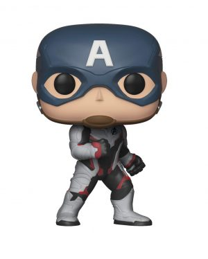 figura funko pop marvel avengers endgame captain america ts box 42235