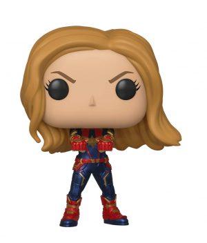figura funko pop marvel avengers endgame captain marvel box 42242