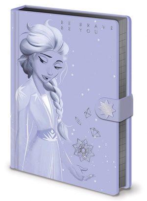 frozen 2 lilac snow a5 premium beleznica pyramid box 43084