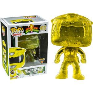 funko pop power rangers yellow morphing box 43880