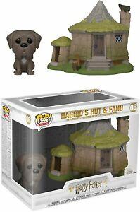 funko pop town hp hagrids hut w fang box 44038