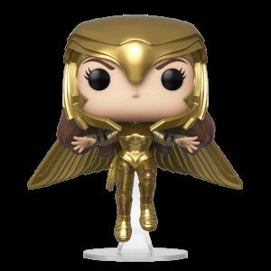 funko pop wonder woman 1984 wonder woman gold flying pose box 44187