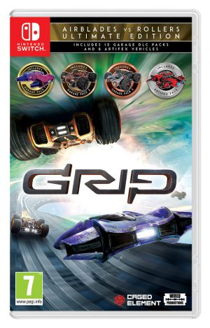 grip combat racing rollers vs airblades ultimate edition switch box 41906