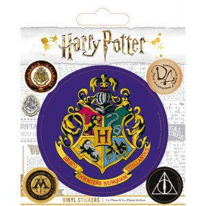 harry potter hogwarts vinyl nalepke pyramid box 42801