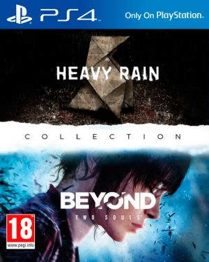 heavy rain and beyond two souls collection playstation 4 box 5977
