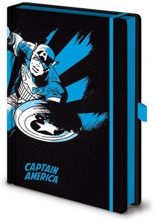 marvel captain america a5 premium beleznica pyramid box 42830