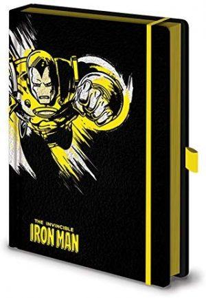 marvel iron man a5 premium beleznica pyramid box 42829