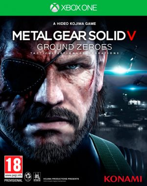 metal gear solid v ground zeroes xbox one box 5845