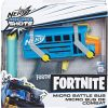 nerf fortnite mikroshots blaster micro battle bus box 44342