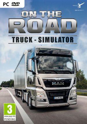 on the road truck simulator pc box 41979