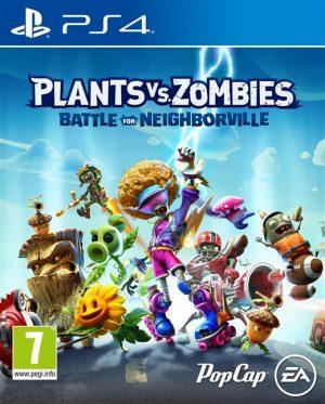 plants vs zombies battle for neighborville ps4 box 41796
