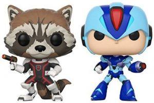 pop figura 2 pack capcom vs marvel rocket vs megaman x box 42174
