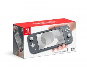 prenosna konzola nintendo switch lite siva box 41816