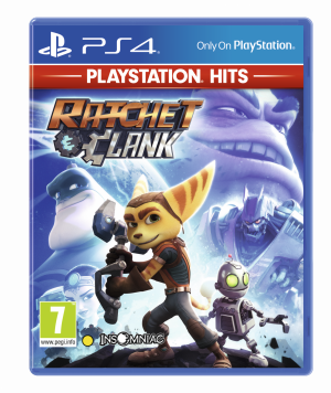 ratchet clank playstation hits ps4 box 5978