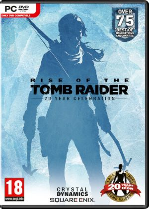 rise of the tomb raider 20 year pc box 6169