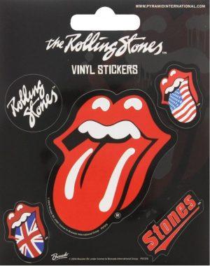 rolling stones tongue nalepke pyramid box 42797