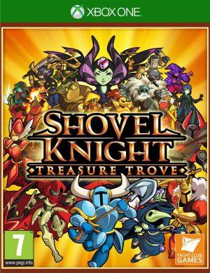shovel knight treasure trove xone box 41870