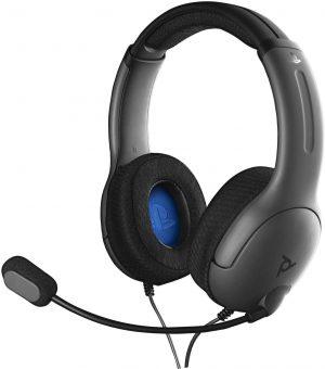 slusalke pdp ps4 stereo headset lvl40 sive box 41994