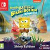 spongebob squarepants battle for bikini bottom rehydrated shiny edition nintendo switch box 44652
