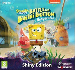 spongebob squarepants battle for bikini bottom rehydrated shiny edition pc box 44653