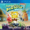 spongebob squarepants battle for bikini bottom rehydrated shiny edition ps4 box 44649