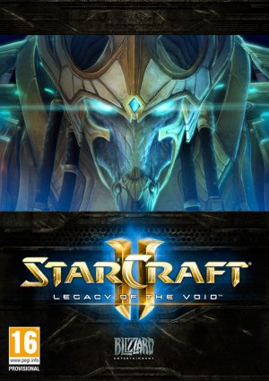 starcraft ii legacy of the void pc box 5103