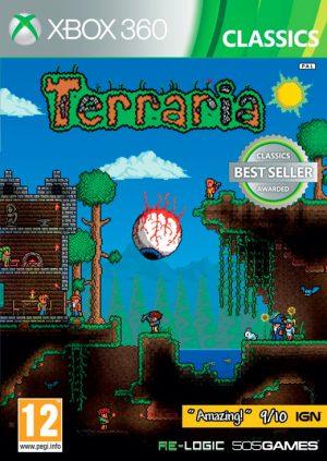 terraria xbox 360 box 5072