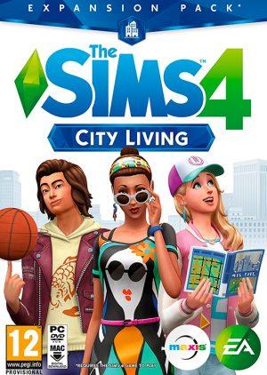 the sims 4 city living pc box 6174