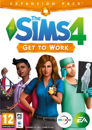 the sims 4 get to work pc box 5081