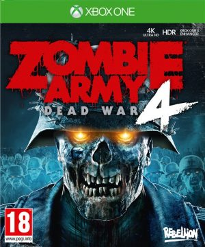 zombie army 4 dead war xone box 41891