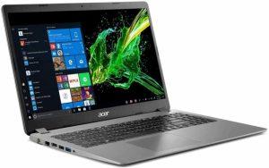 Prenosnik ACER Aspire A315-56-594W i5 8GB 256GB SSD 15,6 FHD Windows 10, kovinsko siv
