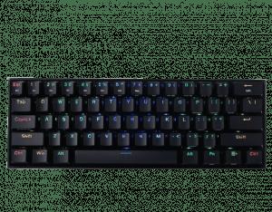 Tipkovnica gaming REDRAGON DRACONIC K530 RGB, brezžična, mehanska, črna